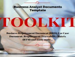 Business Analysis Templates